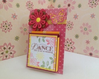 Handmade Post It Note Stand