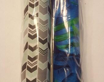 2 Pack Kitty Stix Black/Seafoam & Blue Fish *free shipping*