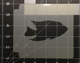 Fish 104 Stencil