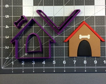Dog House 100 Cookie Cutter Set