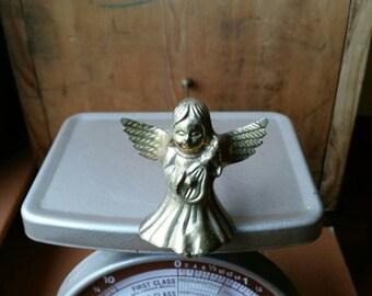 Vintage Brass Angel Candle Snuffer/ Vintage Brass Candle Snuffer/ Angel Candle Snuffer/ Vintage Angel Candle Snuffer/ Vintage Angel Decor