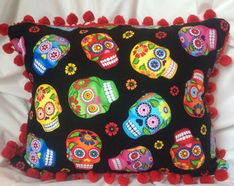 Halloween Day of The Dead Pillow