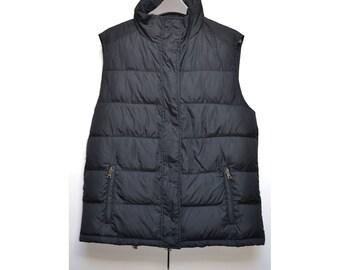 Prada Ladies Hooded  Gilet Bodywarmer Jacket Padded Quilted Designer Size Sz S Small UK 12 / Eu 40 / Ger 38 / Us 8