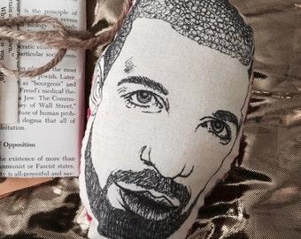 Handmade Drake Plushie Head