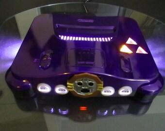 Zelda Majoras Mask Custom Nintendo 64 console