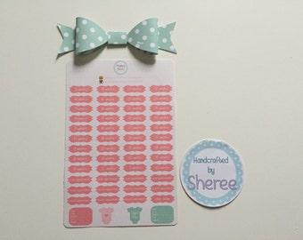 Pregnancy Planner Stickers