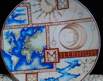 Limoges Porcelain Plate Millenium