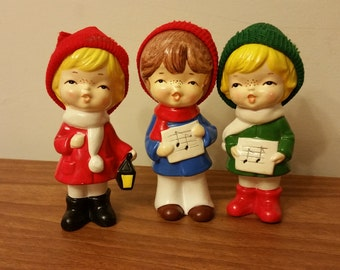 Christmas caroler Knick knacks