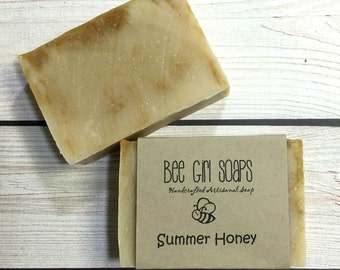 Handmade All Natural Soap | Artisanal Soap | Olive Oil | Vegan Soap | Limited Edition