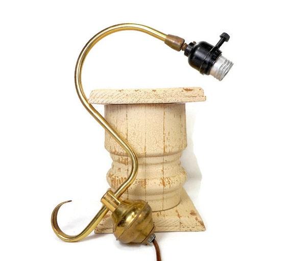 vintage floor lamp parts brass bridge arm metal supply. Black Bedroom Furniture Sets. Home Design Ideas