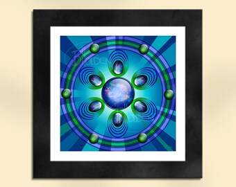 Glimmer of Hope Abstract Art Print