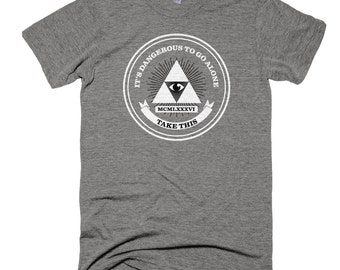 Men's Legend of Zelda/Triforce/Illuminati T-Shirt - Tri-lluminati
