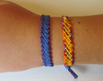 Link Embroidery Floss Bracelet