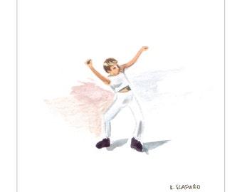 Tiny Dancin Robyn Print