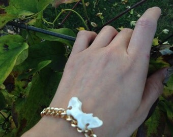 Mink pelvic bone bracelet