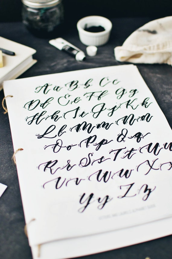 Beginners Guide To Brush Lettering Learn Calligraphy