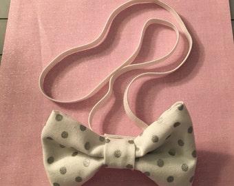 Handmade bow headband