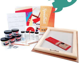 Speedball - Deluxe Screen Printing Kit - Everything you need!