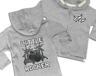 Little Rocker baby zoodie