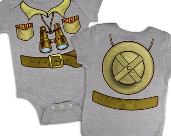 Safari Explorer Costume baby grow