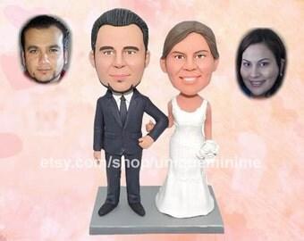 Wedding Gift For Couple, Bridal Shower Gift, Custom  Bobblehead dolls, Bobblehead dolls, Christian   Wedding Gift, Anniversary Gift, Wedding