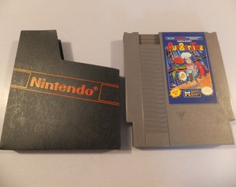 Burgertime Original NES Nintendo Vintage Video Game Cartridge