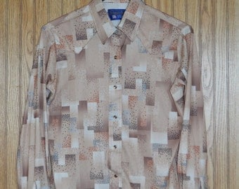 vintage Panhandle Slim polyester western shirt