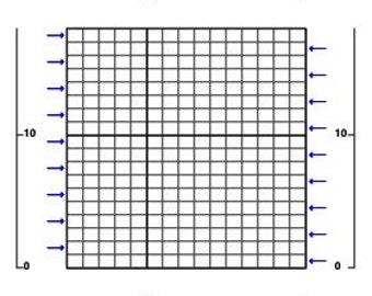 Single Crochet Stitch Graph Blank - 130 Columns x 235 Rows