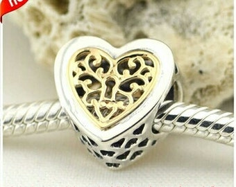 Charms For Pandora Bracelet New You Choose S925 Genuine Silver Dangle Spacer Heart Dolphin Star