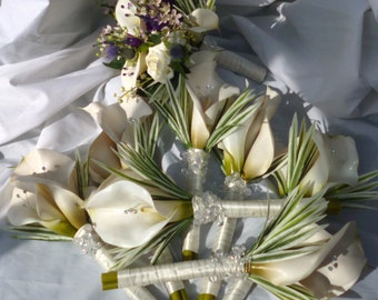 Wedding Flower Package Calla Lily Wedding Flowers