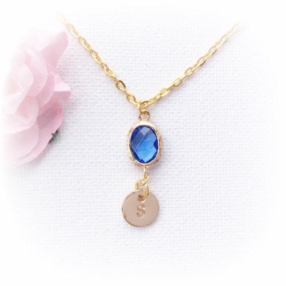 Birthstone necklaceDecember birthstone necklace December