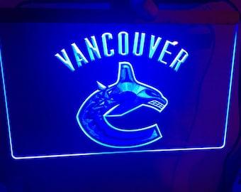 Vancouver Canucks, Canucks, Hockey, NHL, Hockey, Canucks Sign, Canucks light