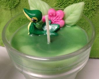 Pokemon Themed Candle