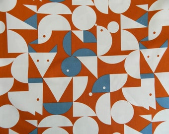 ON SALE  Cherbourg Animals Orange Mice Twill By Cosmo