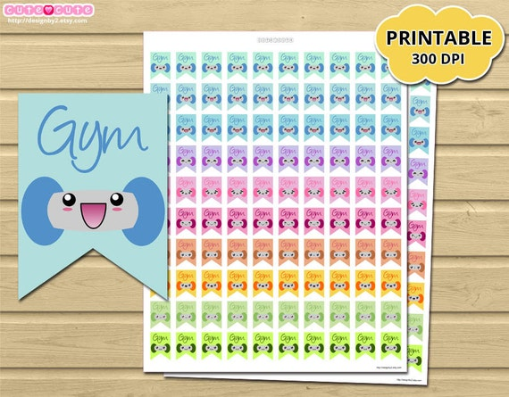 out Printable Planner Stickers - Flag Erin condren - happy planner ...