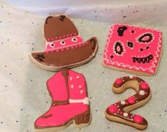 Cowgirl Sugar Cookies