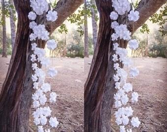 Wedding Backdrop - Flower Backdrop - Outdoor Wedding Decoration