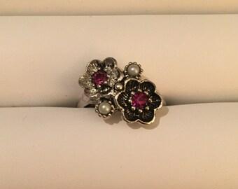 Avon flower ring