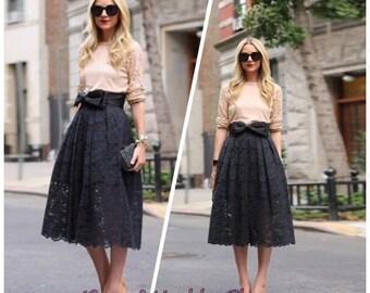 Cybil-Grace Lace Skirt