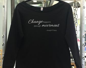 Change Happens Graphic Tee - Ladies 3/4 Sleeve