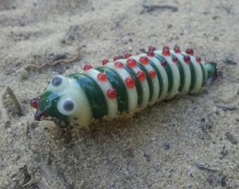 Glass Caterpillar Pendant!