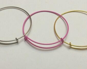 Stainless Steel Adjustable Bracelets