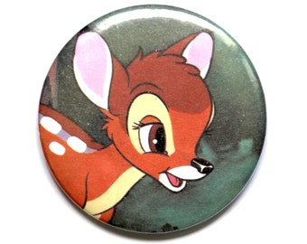Bambi, Compact MIRROR, Pocket Mirror, Disney, Makeup mirror
