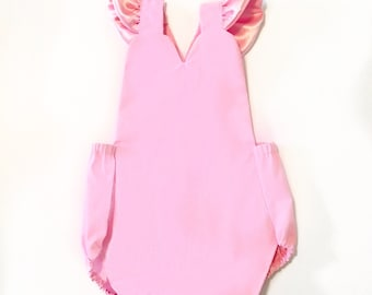 Valentines Day Sweetheart Romper