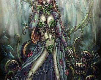 Nature always wins - Poison Ivy Print
