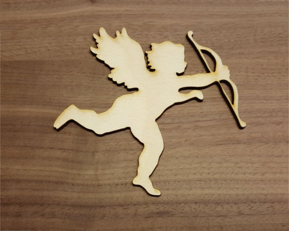 Angel Large & Small Laser Cut Unfinished Wood Cutout