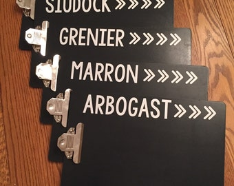 Personalized Clipboard