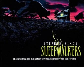 SLEEPWALKERS Movie Poster Steven King