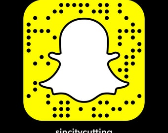 Snapcode decal, custom snapcodes, social media stickers, Snapchat stickers,