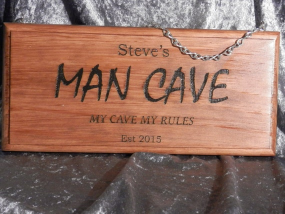 Man Cave Signs Australia : Personalised man cave sign mm fathers day